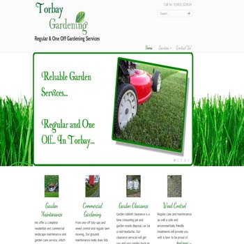 Torquay gardeners carpet cleaner torquay for Local gardening services