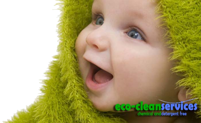 Environmentally friendly carpet cleaning